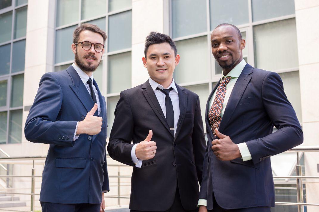 3人のビジネスマン
