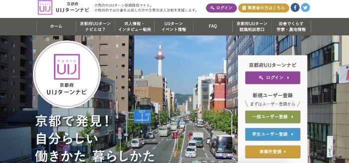 【京都で働きたい】仕事探しから始める京都へのUIJターン
